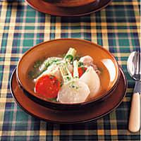 かぶと鶏のトロトロポトフ(192kcal)