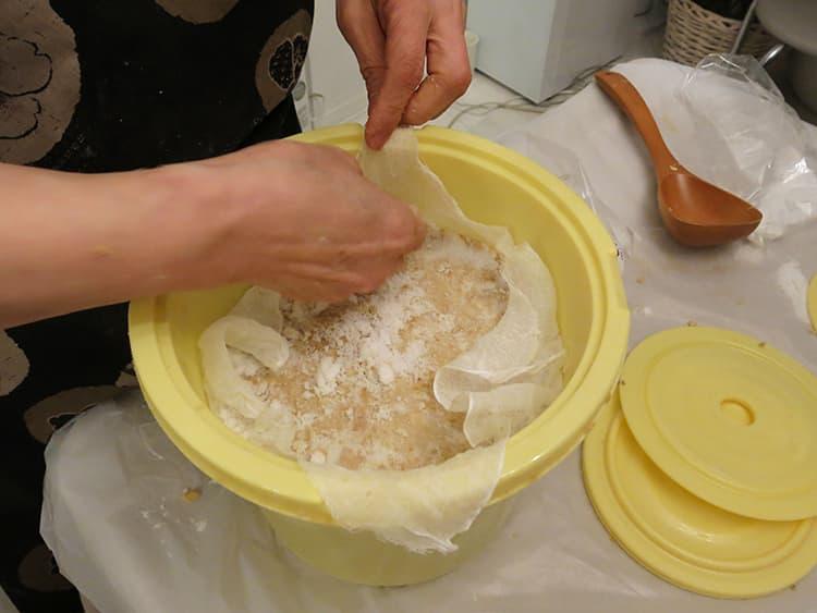 オオニシ恭子,味噌,味噌作り