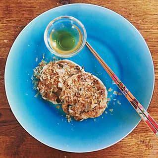 山芋のお好み焼,voce11月号,中村アン,