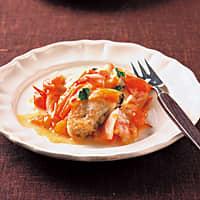 カキのトマトチーズ焼き(213kcal)