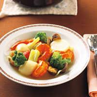 えびと野菜の簡単ブイヤベース