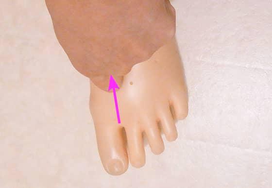 甲 ツボ の 足