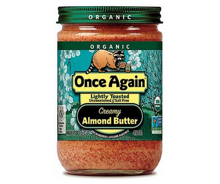 アーモンドバター,Once Again Organic Almond Butter Lightly Toasted Crunchy,