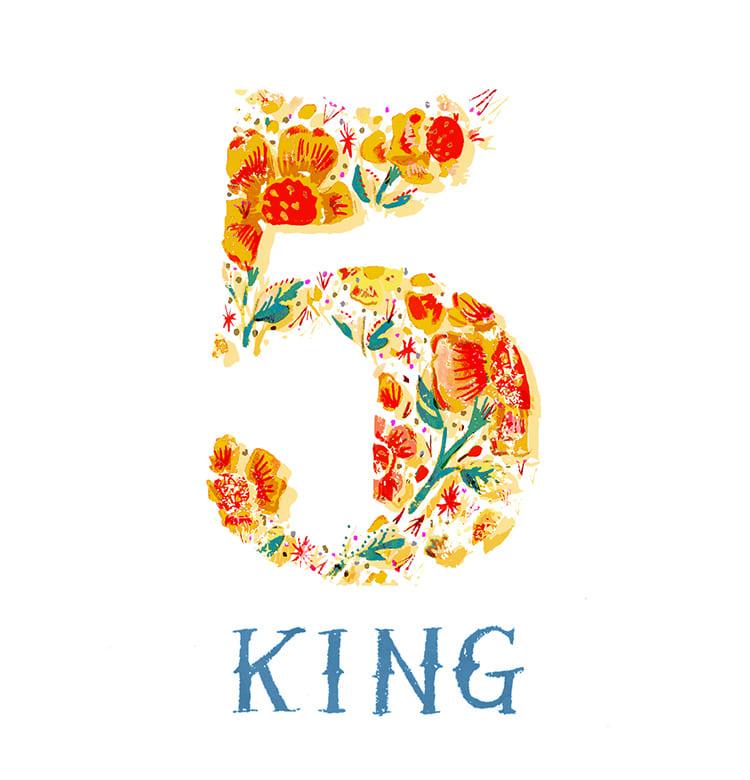 マインドナンバー5【キング】(KING)