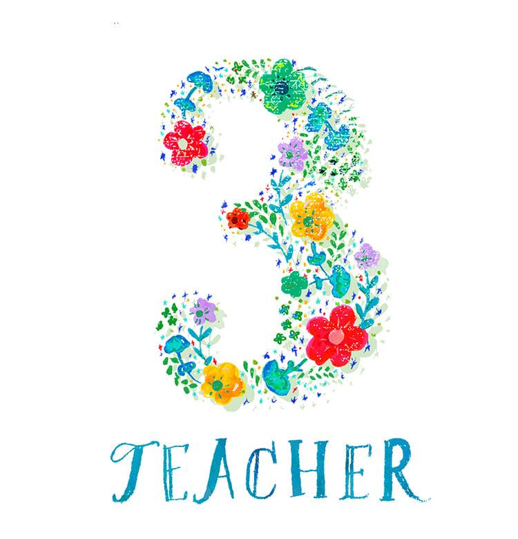 マインドナンバー3【ティーチャー】(TEACHER)
