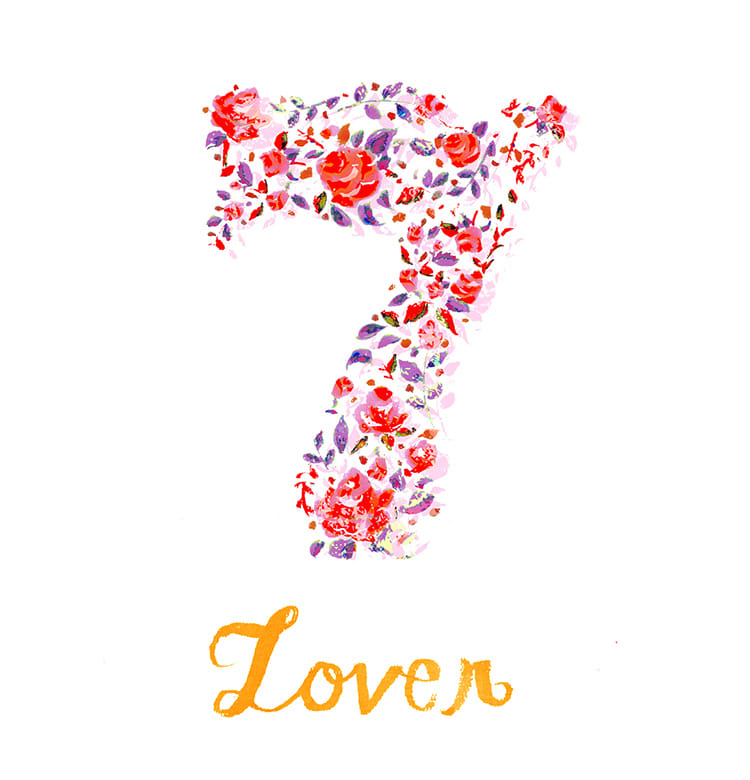 マインドナンバー7【ラバー】(Lover)