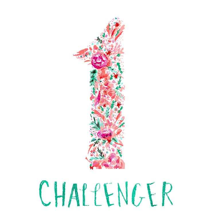 マインドナンバー1【チャレンジャー】(CHALLENGER)