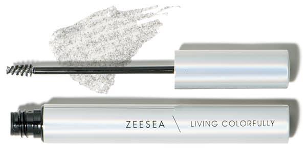 ZEESEA ダイヤモンドシリーズ カラーマスカラ シルバーダイヤ