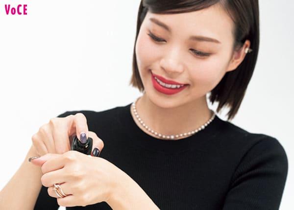 VOCE2021年1月号 和田さん。