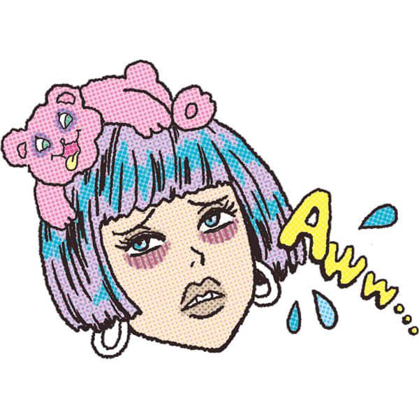 どんよりひどいクマ イラスト/本田佳世
