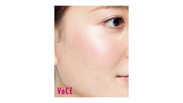 ローラ メルシエ ブラッシュ カラー インフュージョン使用画像