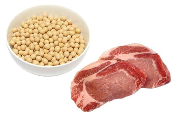 【タンパク質】肉、魚、卵、乳製品などに豊富 豆腐、納豆などの大豆製品