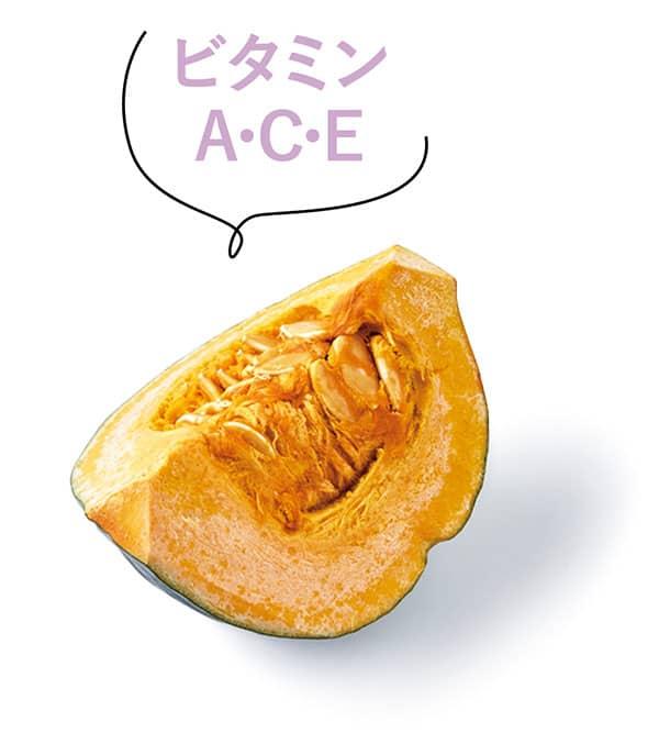 かぼちゃ(ビタミンA・C・E)
