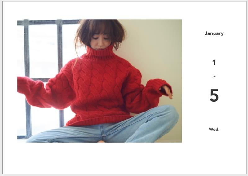 神崎恵 365日「日めくりカレンダー」