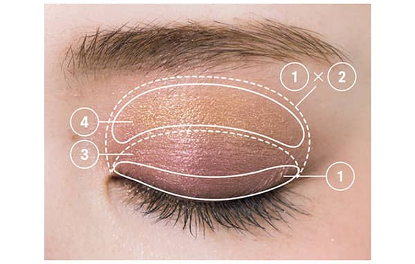 HOW TO MAKE-UP/上まぶた