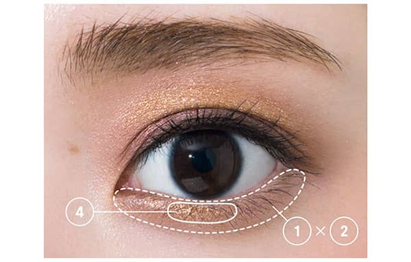 HOW TO MAKE-UP/下まぶた