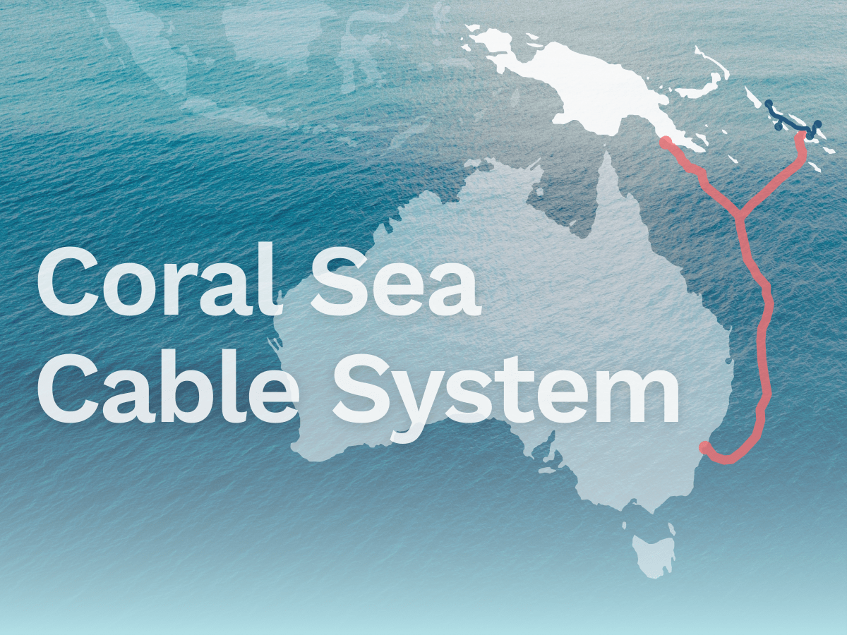 Coral Sea Cable System About The Project