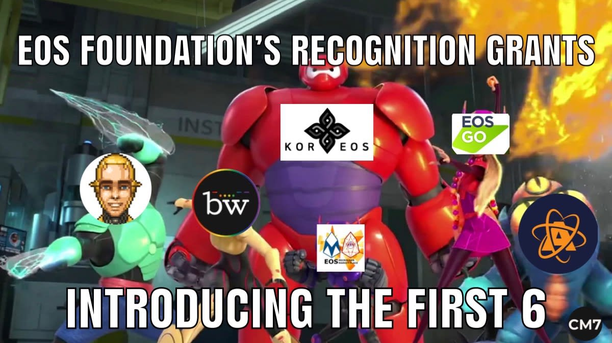 EOS Foundation's Recognition Grants
