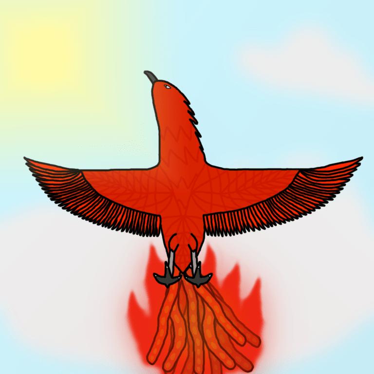Vermilion Bird