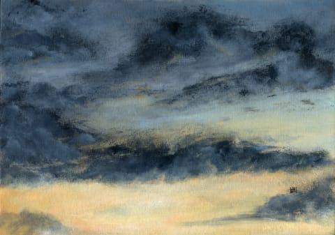 Evening clouds study