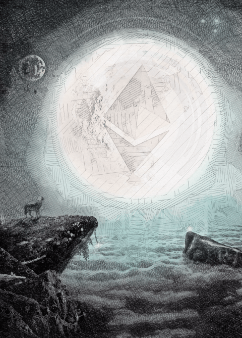 Ether's Harmony (Hand-sketched Edition)