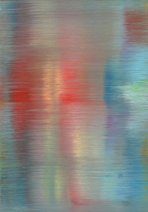 Reflexion No. 3 Abstract art
