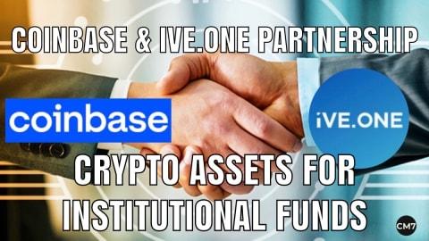 Coinbase & iVE.ONE partnership