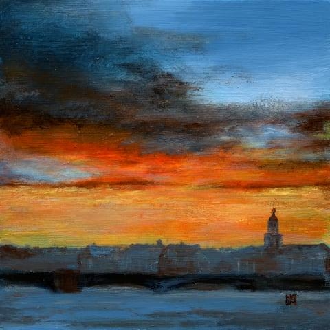 Petersburg sunset