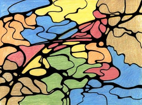 Neurosofix. Abstact art