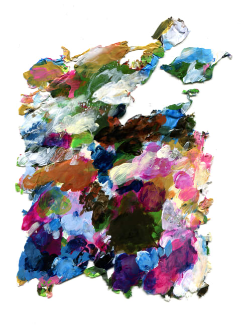 Palette No.1 Abstract art