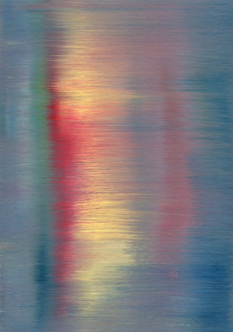 Reflexion No. 2 Abstract painting