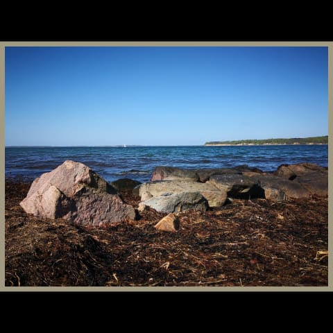 Stones on Sydals Beach