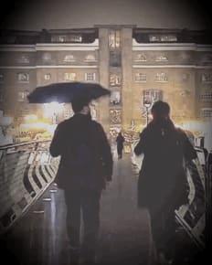 Fade into the rain
