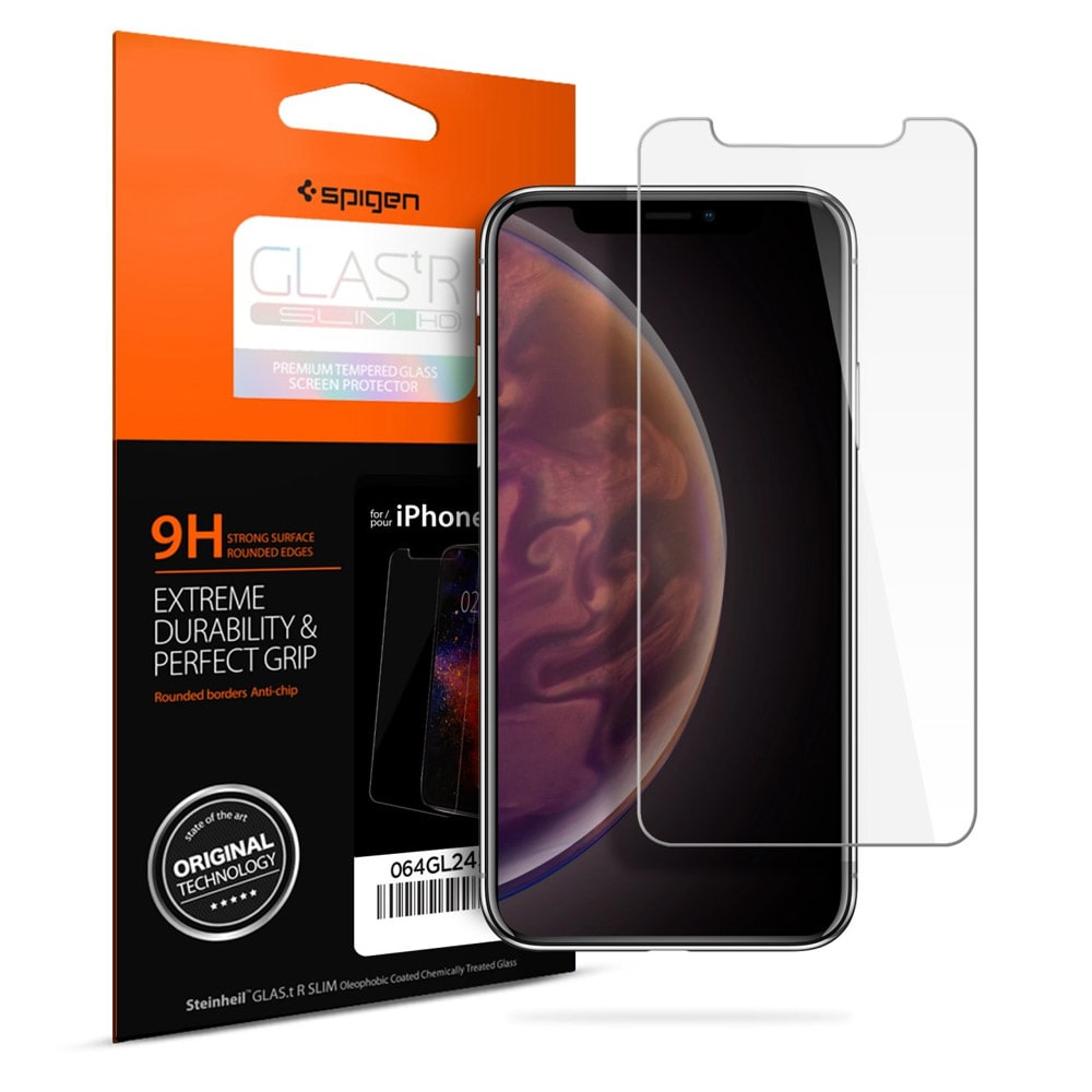 wholesale cellphone accessories SPIGEN GLAS.TR SLIM TEMPERED GLASS SCREEN PROTECTION