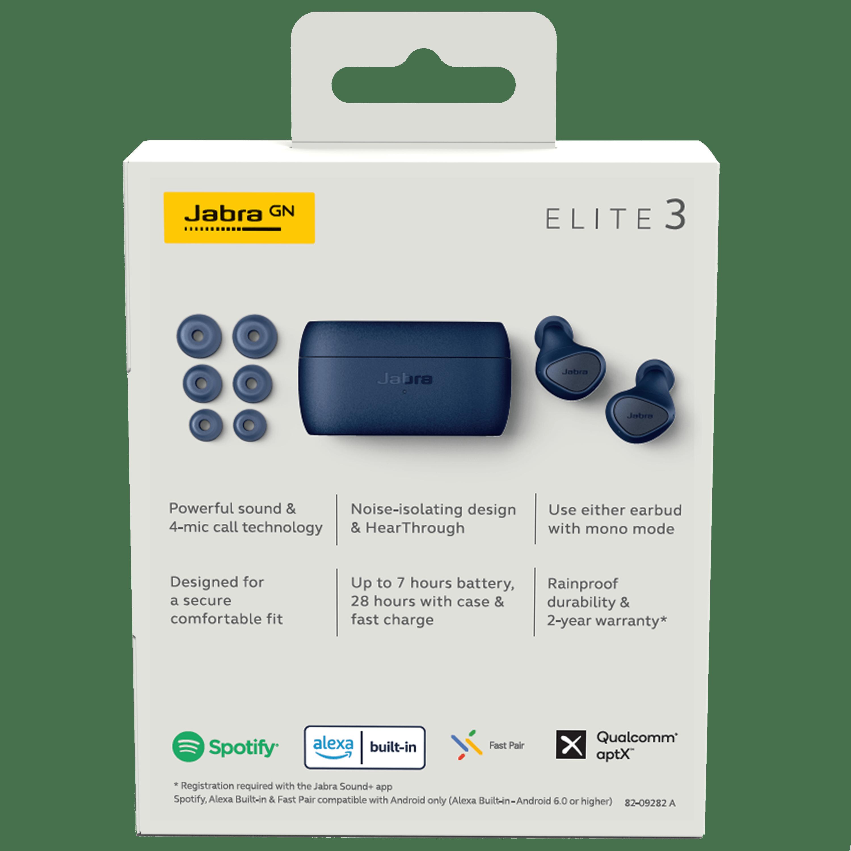 Wholesale cell phone accessory Jabra - Elite 3 In Ear True Wireless Earbuds - Navy