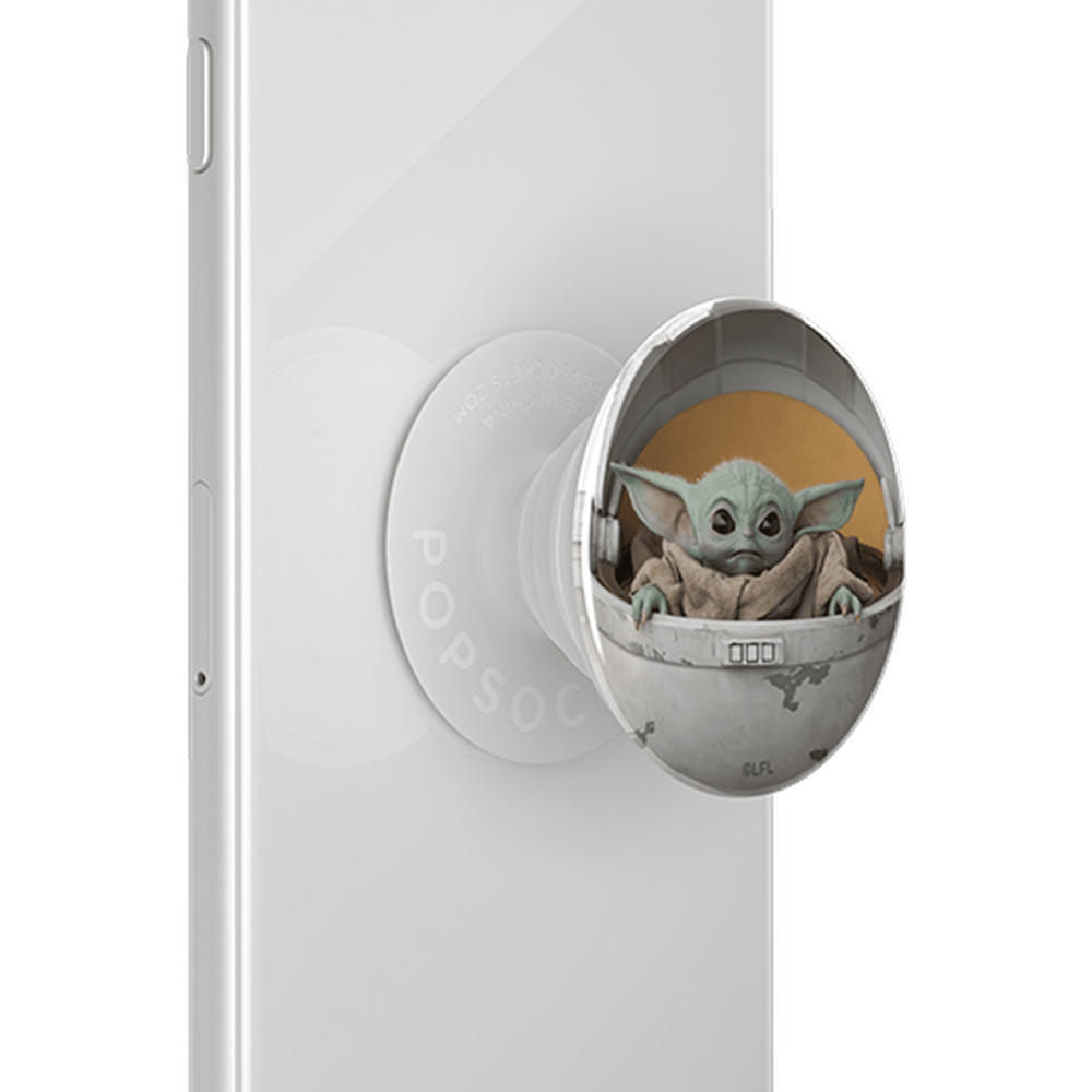 Wholesale cell phone accessory PopSockets - PopGrip Pop Culture - Baby Yoda Pod