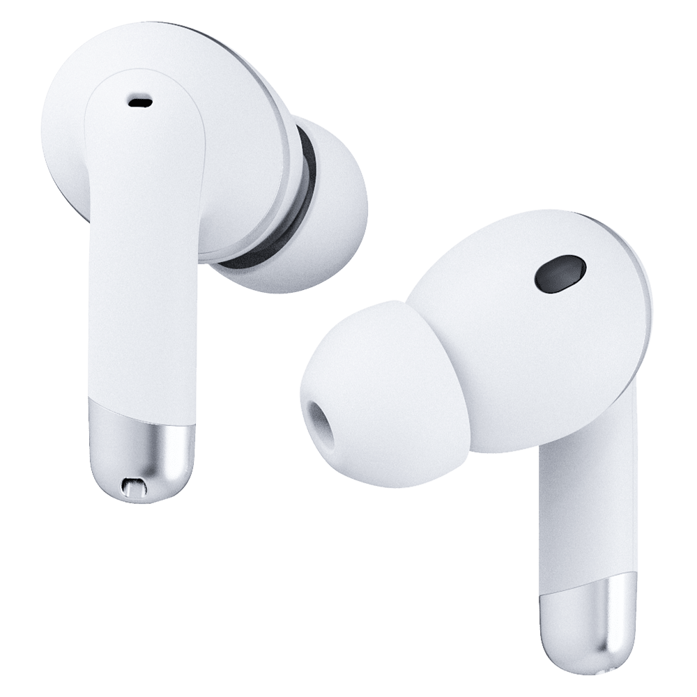 Wholesale cell phone accessory Happy Plugs - Air 1 ANC In Ear Headphones - White