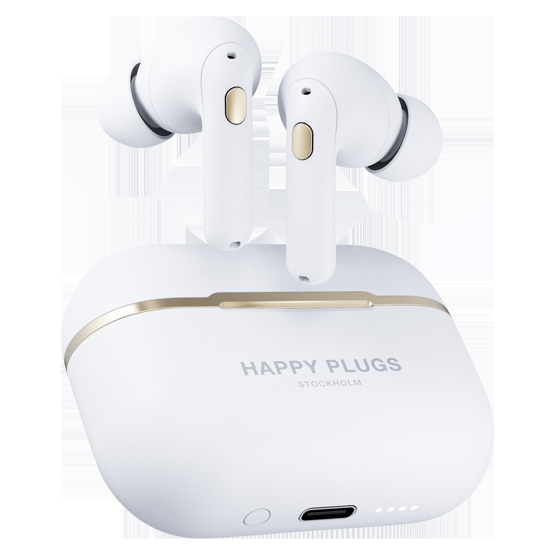 Wholesale cell phone accessory Happy Plugs - Air 1 Zen True Wireless In Ear Headphones - White