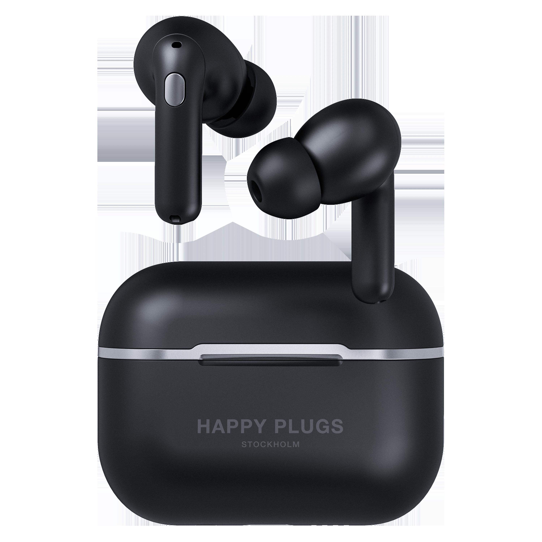 Wholesale cell phone accessory Happy Plugs - Air 1 Zen True Wireless In Ear Headphones - Black