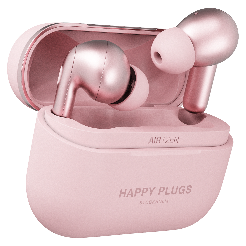 Wholesale cell phone accessory Happy Plugs - Air 1 Zen True Wireless In Ear Headphones - Pink