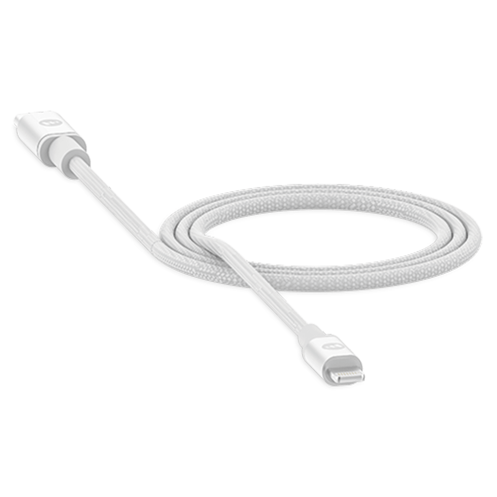 Wholesale cell phone accessory mophie - USB C to Apple Lightning Cable 6ft - White