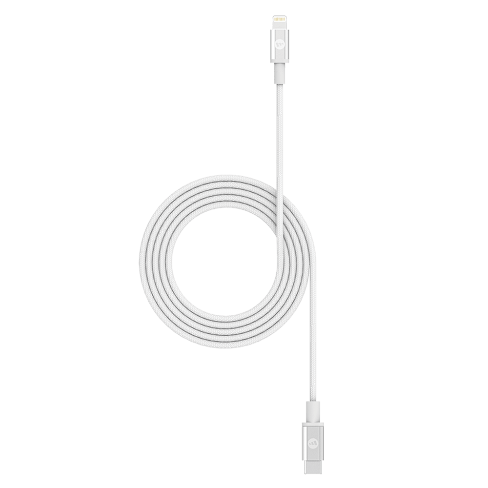 Wholesale cell phone accessory mophie - USB C to Apple Lightning Cable 3ft - White