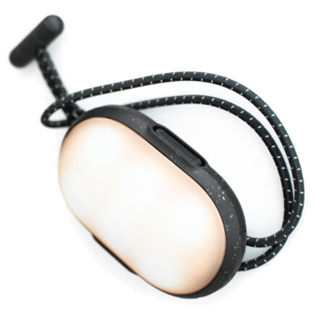 Wholesale cell phone accessory Lander - Cairn Mini Lantern 1,050 mAh - Black and Gray