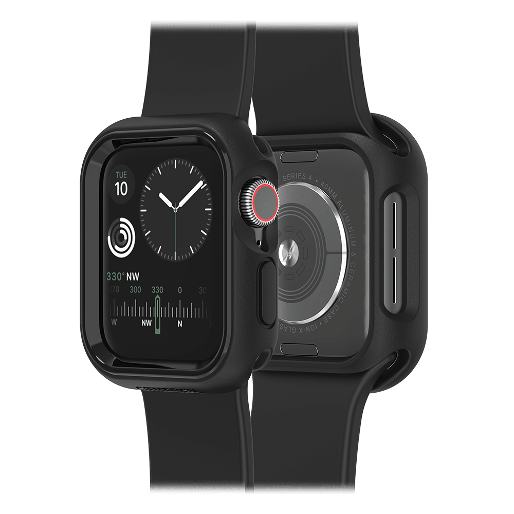 Wholesale cell phone accessory OtterBox - EXO EDGE Case for Apple Watch 40mm - Black