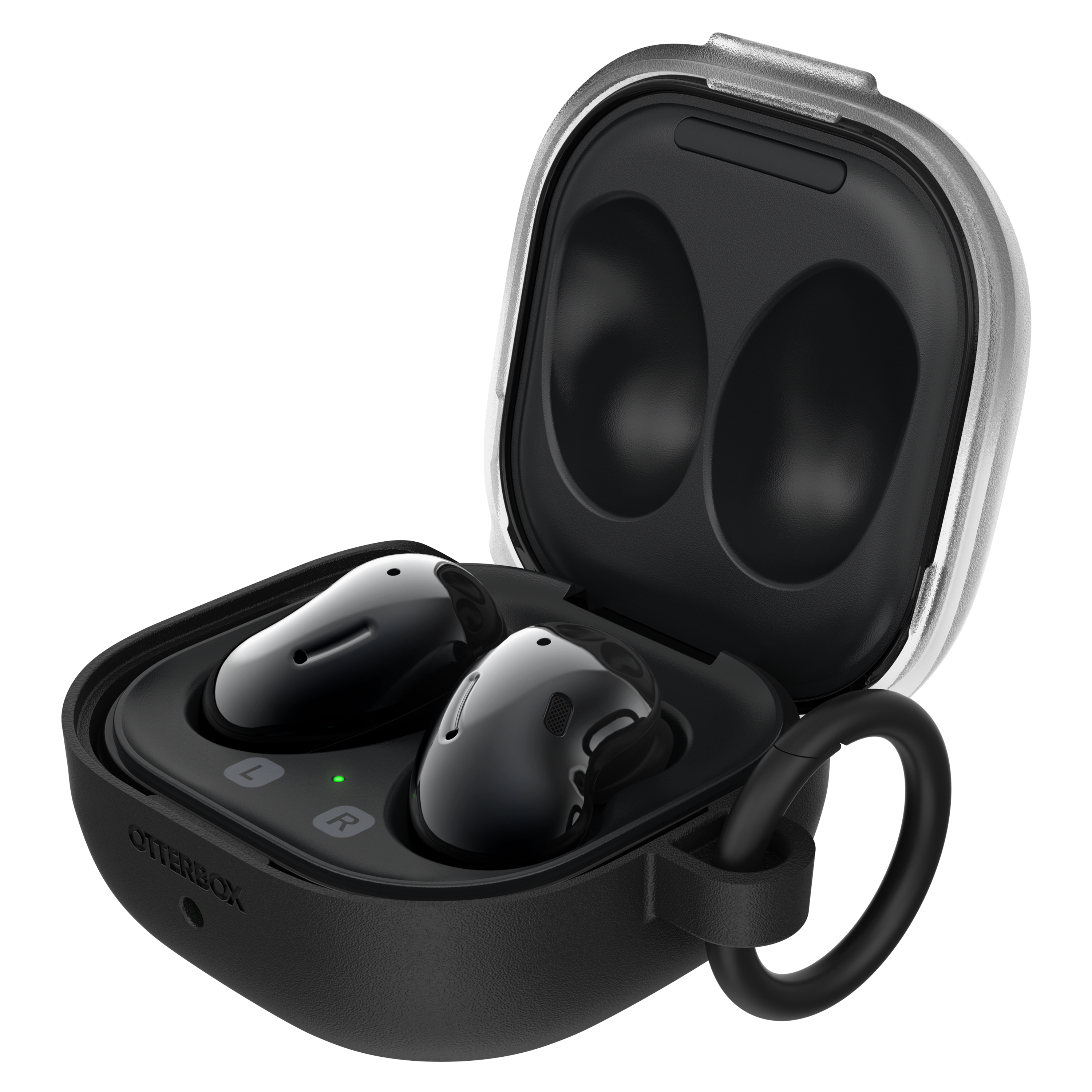 OtterBox - Headphone Case for Samsung Galaxy Buds Pro  /  Live - Black Crystal