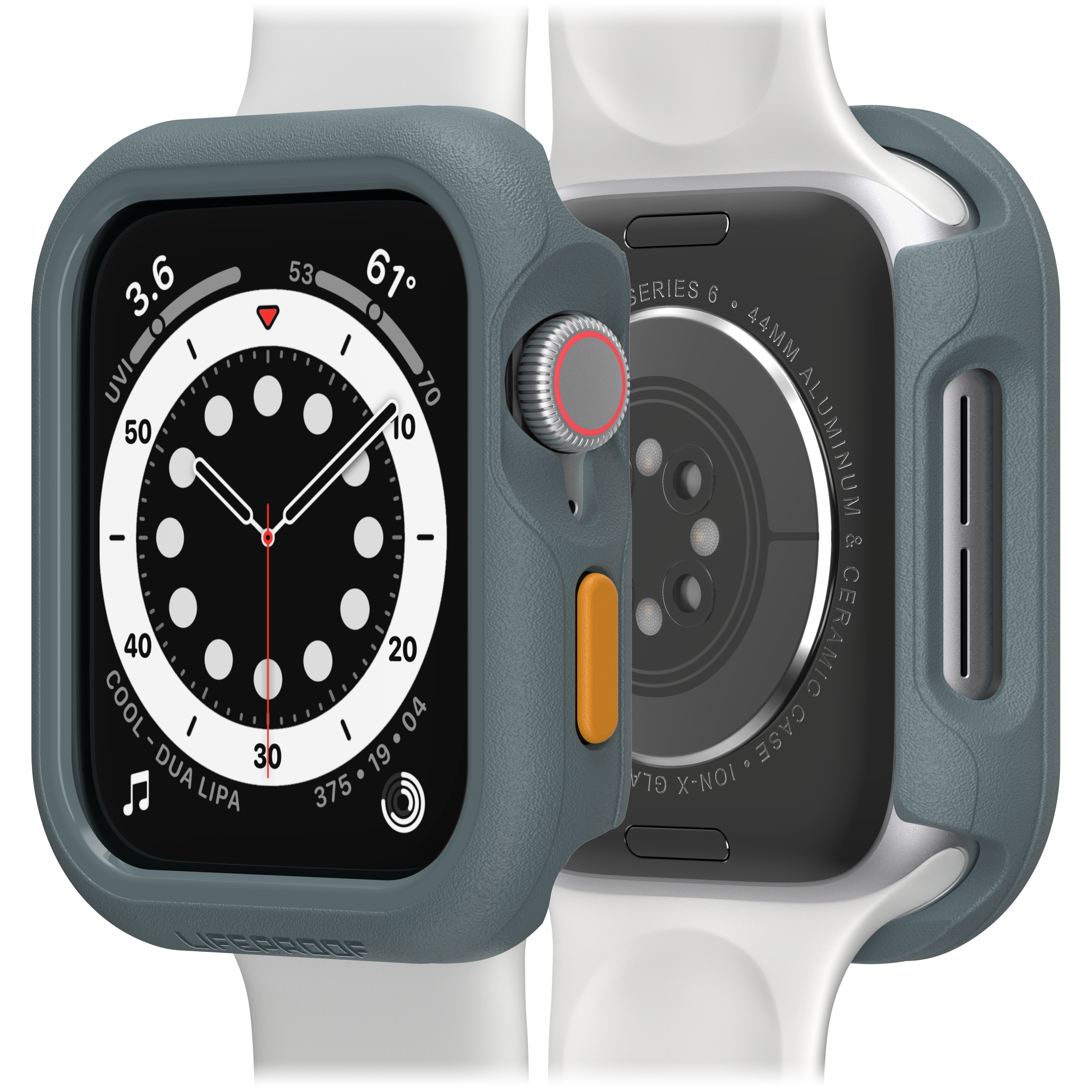 Wholesale cell phone accessory LifeProof - Bumper Case for Apple Watch 44mm - Pavement