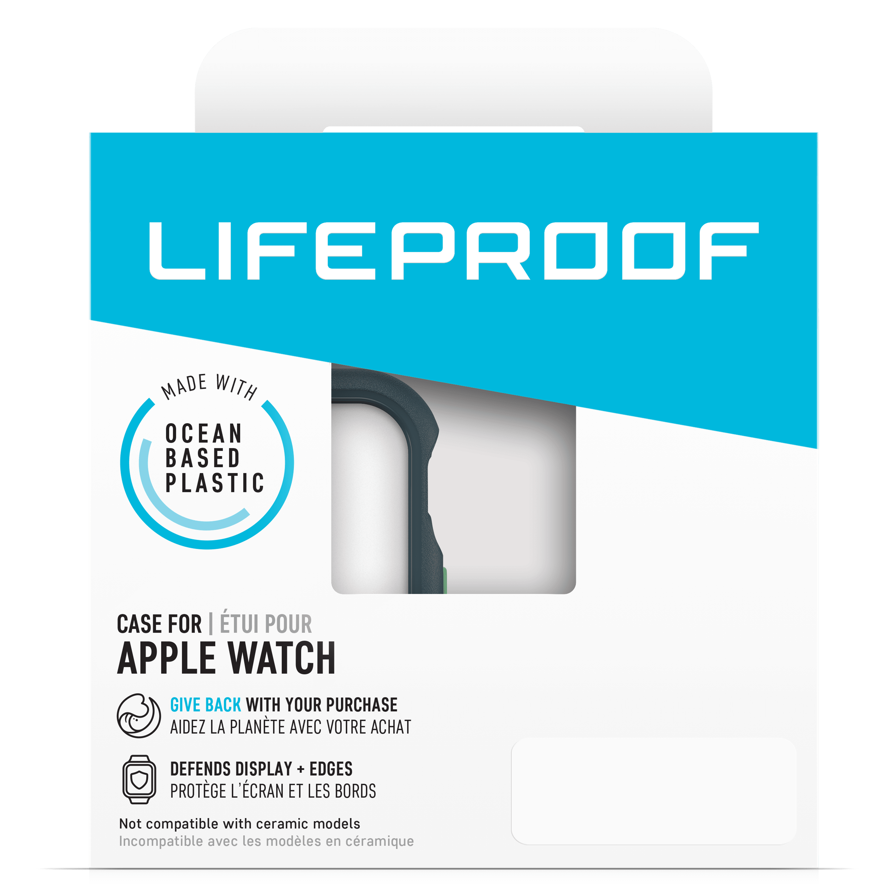 Wholesale cell phone accessory LifeProof - Bumper Case for Apple Watch 44mm - Neptune