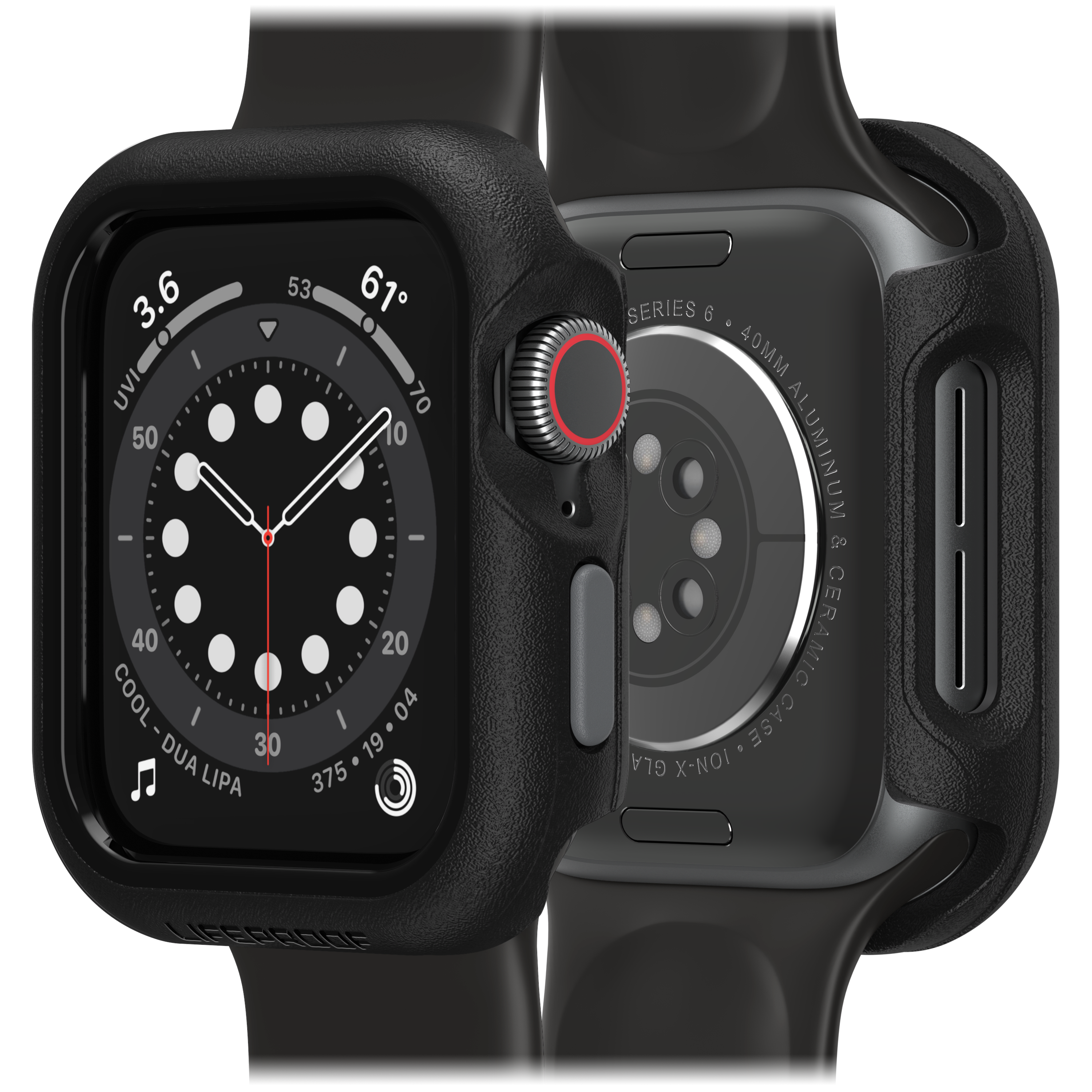 Wholesale cell phone accessory LifeProof - Bumper Case for Apple Watch 40mm - Pavement