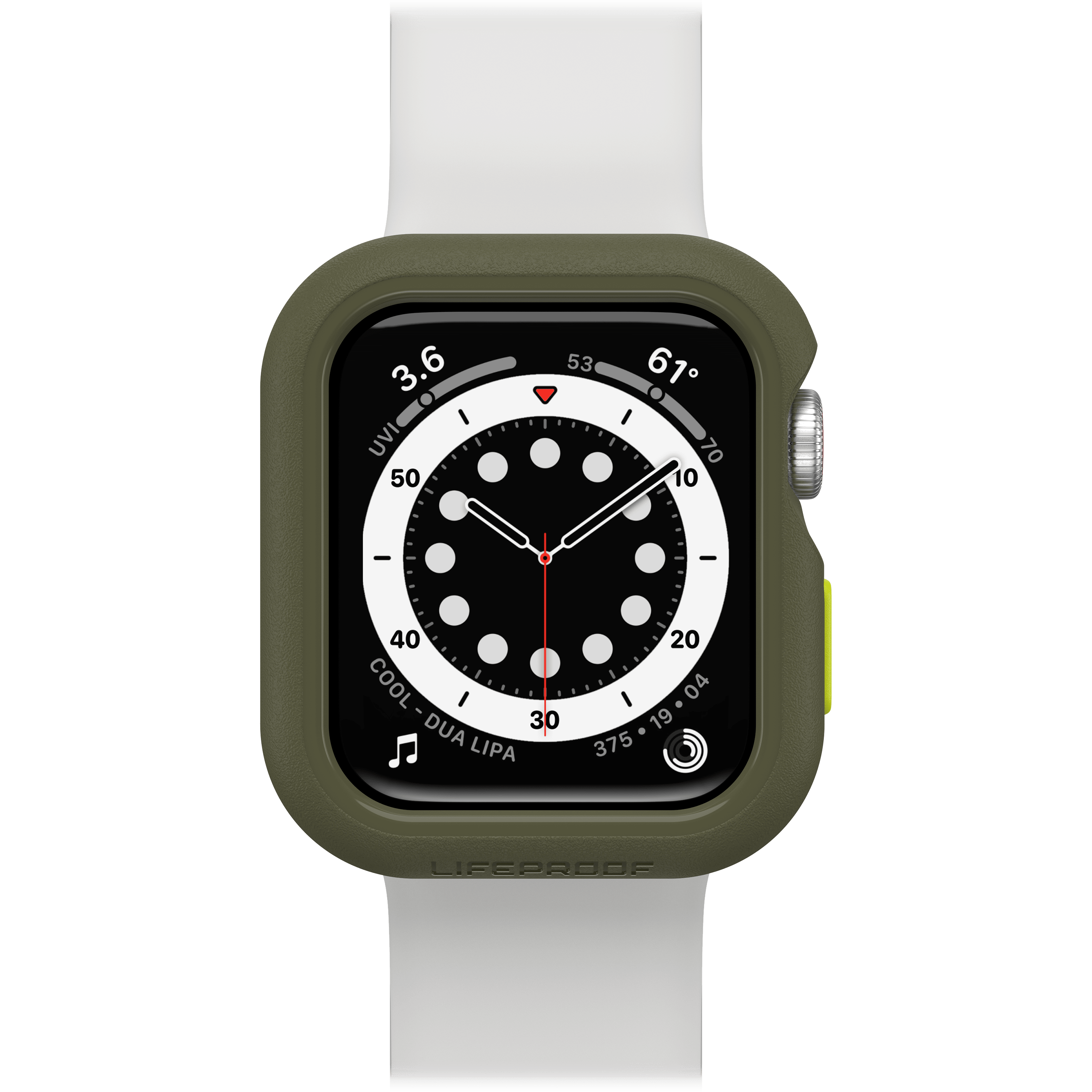 Wholesale cell phone accessory LifeProof - Bumper Case for Apple Watch 40mm - Gambit Green