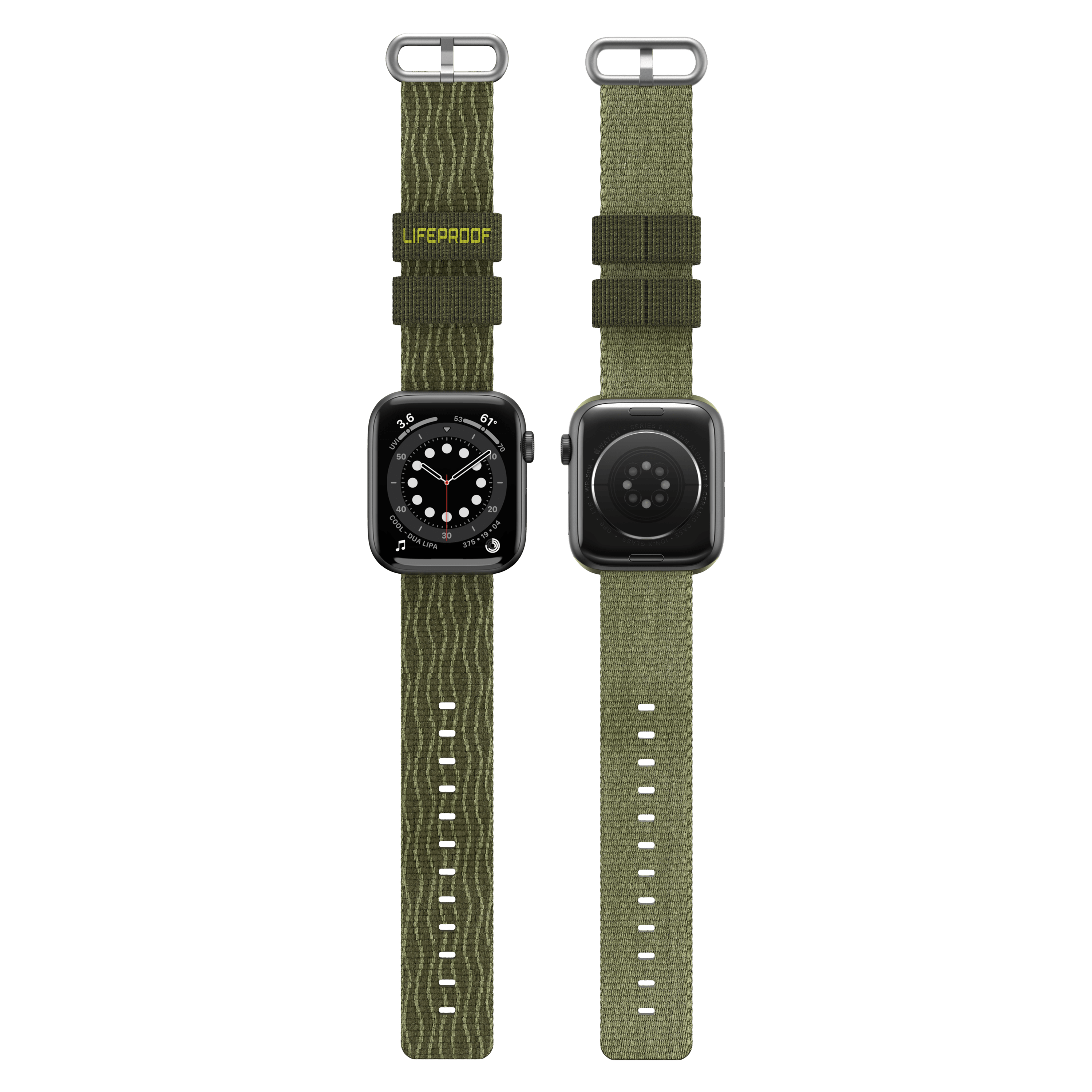 Wholesale cell phone accessory LifeProof - Watchband for Apple Watch 42mm  /  44mm - Sea Moss